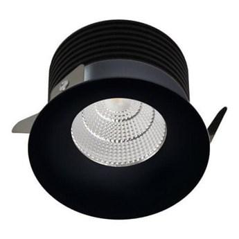 LED2 - LED Punktowa lampa wpuszczana SPOT LED/9W/230V czarny IP44