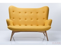 Sofa Angles Wings Yellow 2-os. KARE design