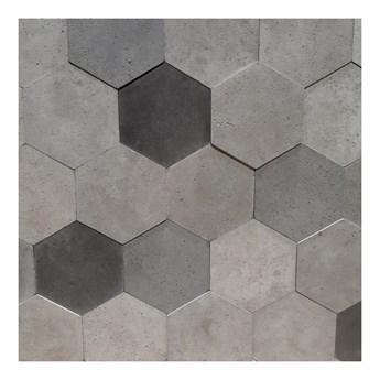 Płytka dekoracyjna betonowa Knap hexagon natural mix 0,392 m2