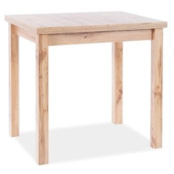 Klasyczny stół nierozkładany Adam 90x65