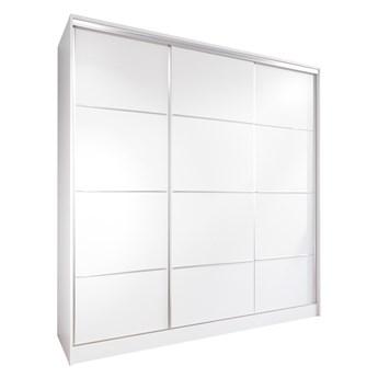 Szafa przesuwna z szufladami LOTUS 200 biała