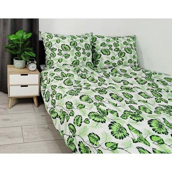 Pościel kora liście monstera zielone wzór 1412