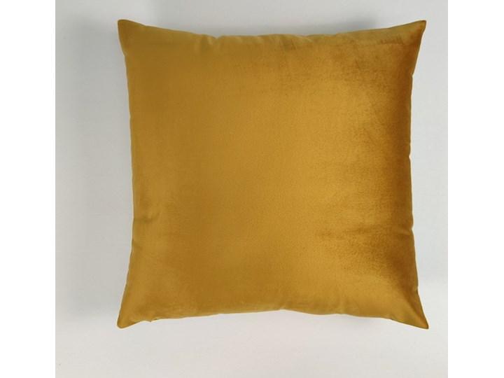Poszewka dekoracyjna velvet złota W-SX53001 40x40 cm Poliester Kolor Złoty Kategoria Poduszki i poszewki dekoracyjne