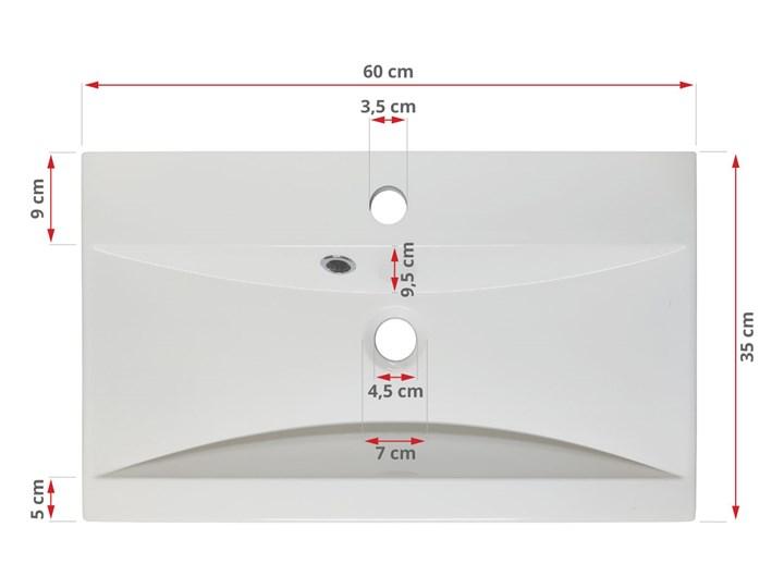 Meble wiszące mebli łazienkowych ALBA, Wotan - Biały połysk Kategoria Zestawy mebli łazienkowych