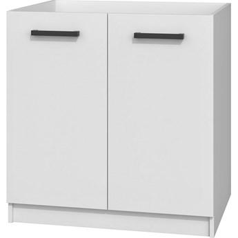 Biała szafka kuchenna pod zlew - Stejar 14X