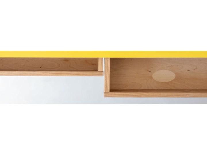 Biurko narożne w stylu skandynawskim Luka 135 Płyta MDF Biurko z nadstawką Szerokość 135 cm Drewno Kategoria Biurka