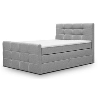 Łóżko kontynentalne 160x200 • BLING • z dwoma pojemnikami