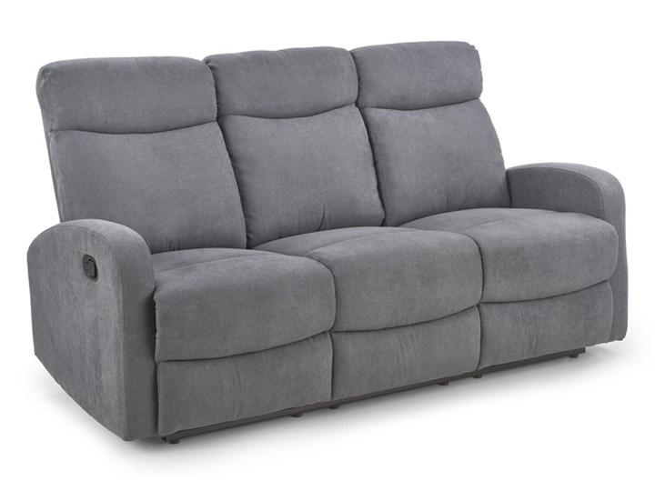 Sofa Oslo 3S Rozkładana Popielaty Głębokość 95 cm Modułowe Wielkość Trzyosobowa Typ Gładkie
