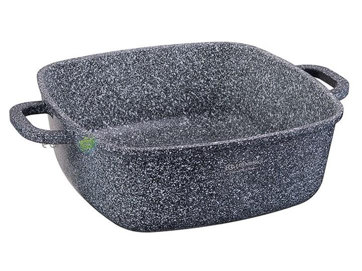 Garnki marmurowe Edenberg EB 8030 Zestaw 3 garnków na indukcję Zestaw garnków Kategoria Zestawy garnków i patelni Aluminium Kolor Szary