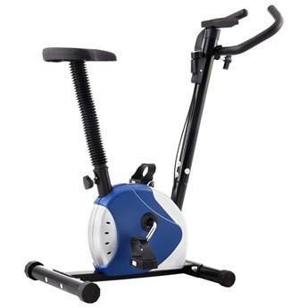 Rowerek do ćwiczeń z paskiem oporowym, czarny