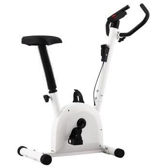 Rowerek do ćwiczeń z paskiem oporowym, biały