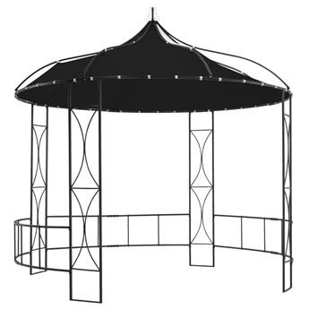 Altana, 300 x 290 cm, antracytowa, okrągła