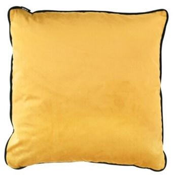 Poduszka kwadratowa DUKA SAMMET 50x50 cm żółta miodowa welur