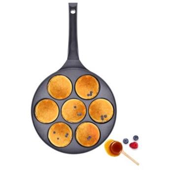 Patelnia do pancakes indukcja DUKA KRISPA 26 cm czarna aluminium