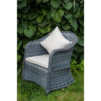 Elegancki fotel ogrodowy z podłokietnikami Moderno