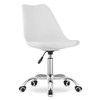 Krzesło obrotowe biurowe MSA009 białe