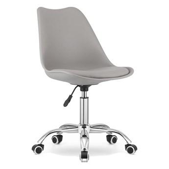 Krzesło obrotowe biurowe MSA009 jasnoszare