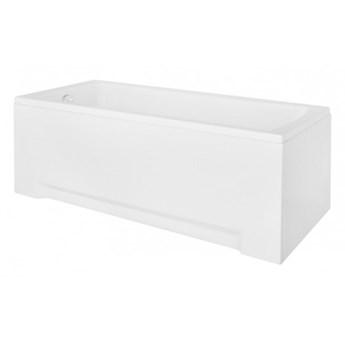 Wanna prostokątna Optima, 140x70 cm, biała