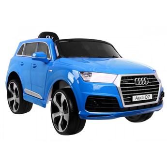 Samochód dla dzieci New Audi Q7 2.4G LIFT Lakierowany Niebieski kod: PA.JJ2188.EXL.NIE