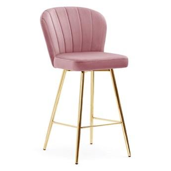 Hoker Molly krzesło barowe muszelka