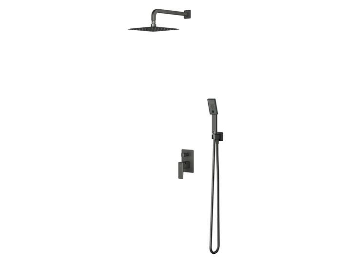 Parma system prysznicowy podtynkowy kompletny grafit SYSPM10GR Kategoria Zestawy prysznicowe