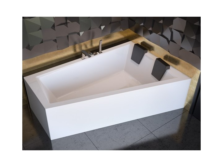 Wanna narożna Intima Duo, 170x125 cm, asymetryczna, prawa, biała