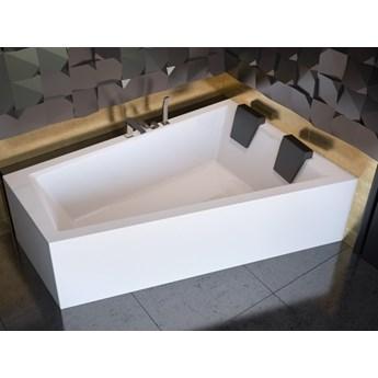 Wanna narożna Intima Duo, 180x125 cm, asymetryczna, prawa, biała