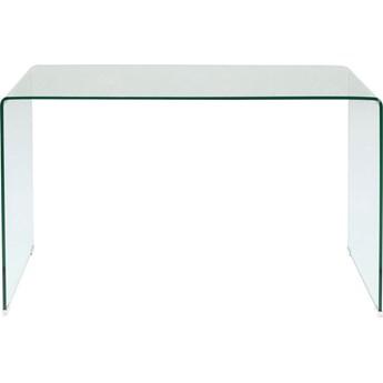 Biurko Clear Club 125x60 cm transparentne