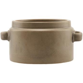 Doniczka Bundi Ø26x16 cm brązowa