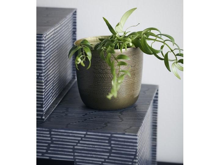 Doniczka Chappra Ø10x9 cm mosiężna antyczna Doniczka na kwiaty Kategoria Doniczki i kwietniki