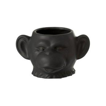 Doniczka Monkey 19x12 cm czarna