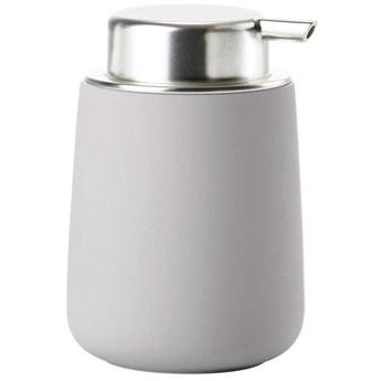 Dozownik na mydło Nova 250 ml szary - soft grey