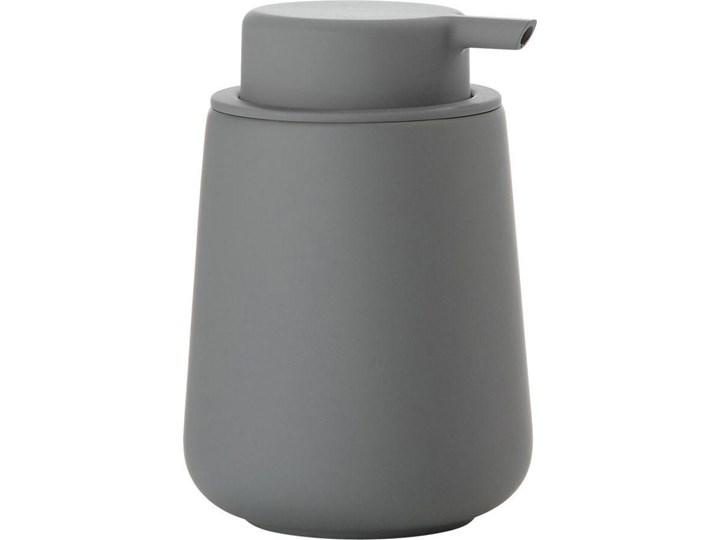 Dozownik na mydło Nova One 250 ml szary - grey Dozowniki Kolor Zielony Kategoria Mydelniczki i dozowniki