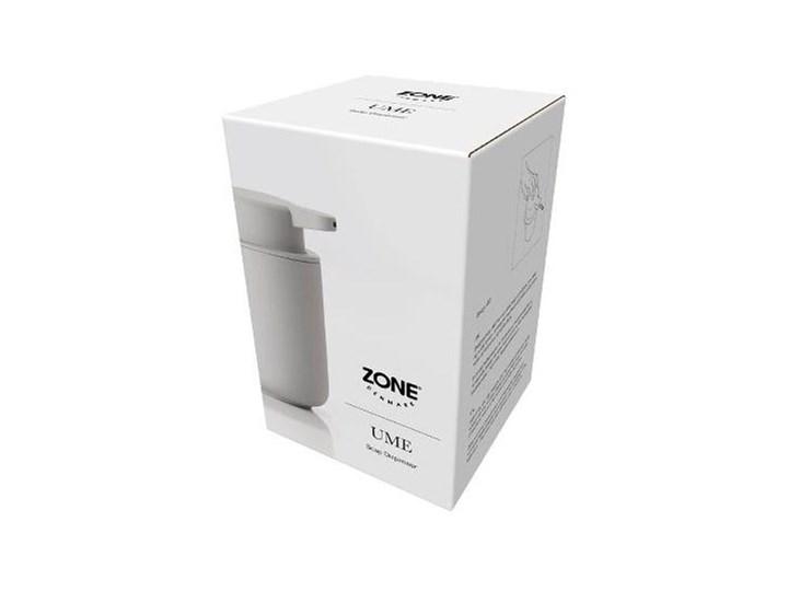 Dozownik na mydło Zone 0,25L szary - soft grey Ceramika Dozowniki Kolor Zielony