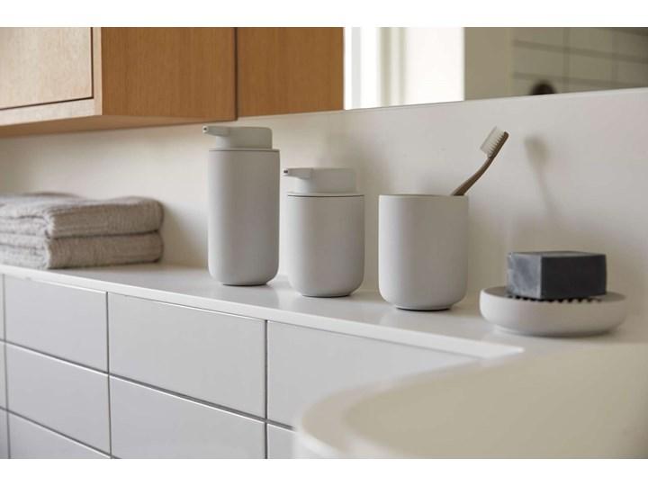 Dozownik na mydło Zone 0,25L szary - soft grey Ceramika Dozowniki Kategoria Mydelniczki i dozowniki