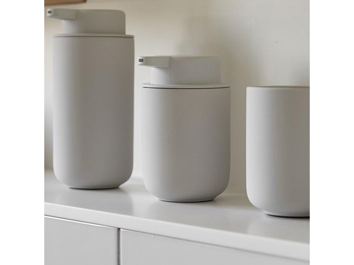 Dozownik na mydło Zone 0,25L szary - soft grey Ceramika Dozowniki Kategoria Mydelniczki i dozowniki Kolor Zielony