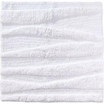 Dywanik łazienkowy Flow 65x65 cm biały