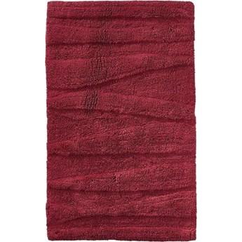 Dywanik łazienkowy Flow 80x50 cm czerwony