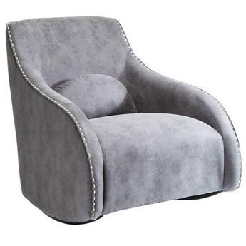 Fotel Swing Ritmo 76x83 cm szary