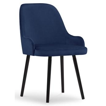 Krzesło Flint 55x85 cm królewski niebieski