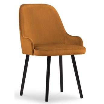 Krzesło Flint 55x85 cm pomarańczowe