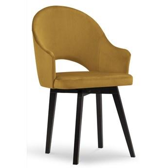 Krzesło Gabro 56x92 cm żółte