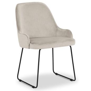 Krzesło Olivine 55x86 cm beżowe