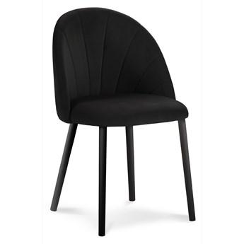Krzesło Ventura 52x80 cm czarne