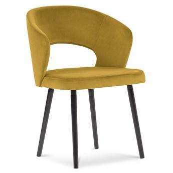 Krzesło z podłokietnikami Goa 55x80 cm żółte