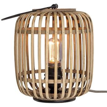 Lampa stołowa Nandez Ø20x26 cm bambus
