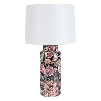 Lampa stołowa Pink Flower ∅16x63 cm kolorowa