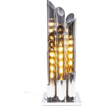 Lampa stołowa Pipe 30x80 cm chromowa