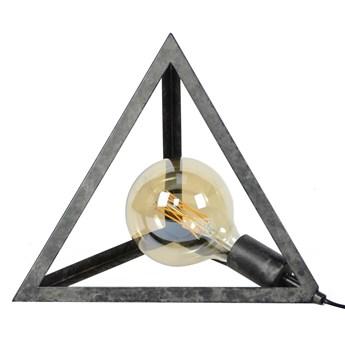 Lampa stołowa Pyramid 35x30 cm antracytowa