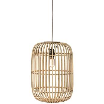 Lampa wisząca Nandez Ø32x114 cm bambus